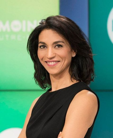Sabine Quindou journaliste pour un conference agence Minds