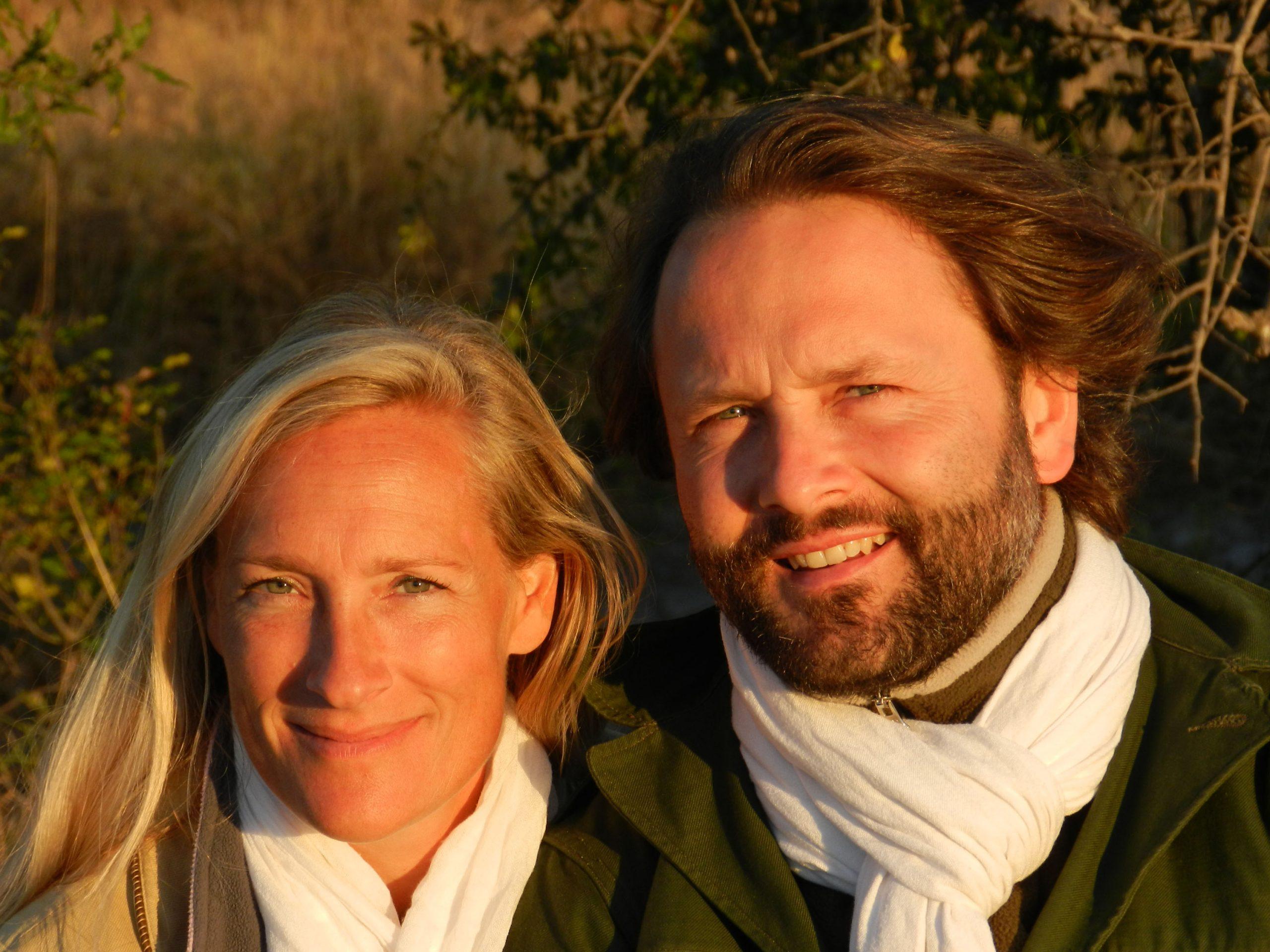 Photographie Sonia et Alexandre Poussin